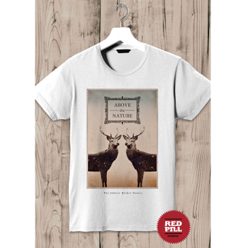 T-shirt Above the Nature – RedPill