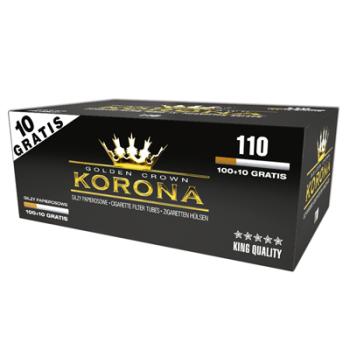 110 Tubos Cigarros KORONA