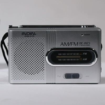 Mini Rádio de Bolso Portátil AM-FM Vintage