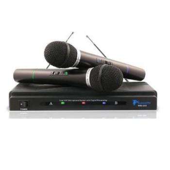 Conjunto de Microfones Wireless profissionais