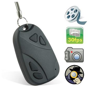 Porta chaves – Mini câmara de filmar