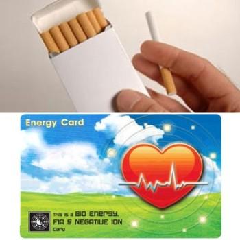 Cartão Redutor dos Efeitos Nocivos do Tabaco