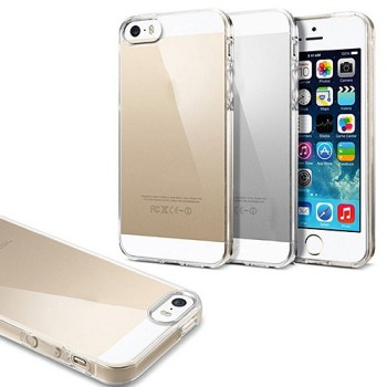 Capa Crystal Clear para iPhone 5 5S