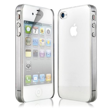 Capa Crystal Clear para iPhone 4