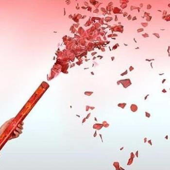 Canhão Lança Pétalas de Rosa