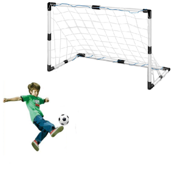 Conjunto de Bola de Futebol com Baliza