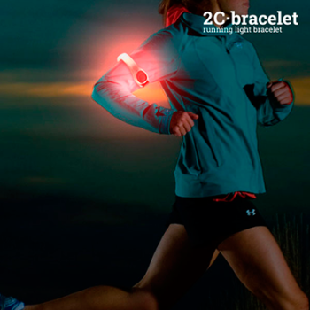 Bracelete Desportiva LED de Segurança