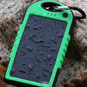 Carregador Power Bank Solar Anti-Choque