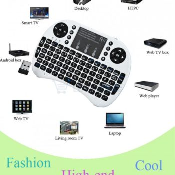 Mini Teclado com Rato para Smart Tv / Android Box / Xbox / Playstation / Windows
