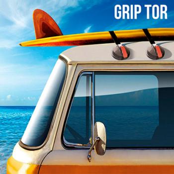 Ventosas para tectos de carro Grip Tor (pack de 2)