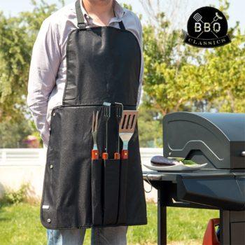 Utensílios para Barbecue e Avental BBQ