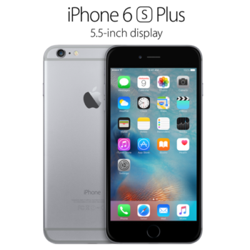 Apple® iPhone 6S PLUS 16GB Recondicionado A++