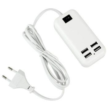 Carregador 4 portas USB 15W