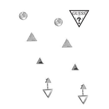 Conjunto de 3 Brincos Iconic Guess