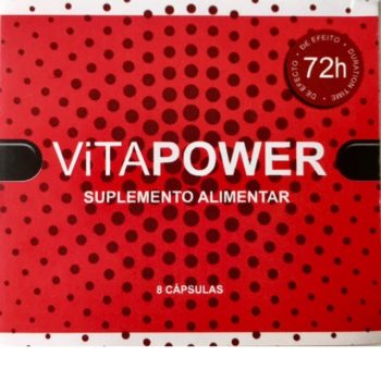 VitaPower – Estimulante Sexual – 8 cápsulas