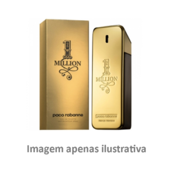 Se gosta de One Million Paco Rabanne (Genérico N 2) Masculino 100 ml