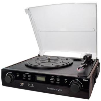 Gira-Discos BTC-406 + Gravador Recondicionado