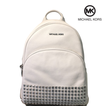 Mochila Michael Kors Abbey Large Optic White