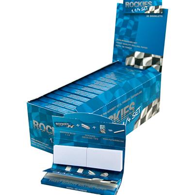 Papel de fumar ROCKIES 1.1/4 + filtros