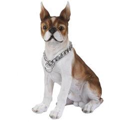 Coleira Prateada 70 cm para Cão