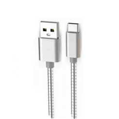 Cabo USB de Metal para Android Type C