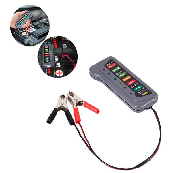 Teste de Bateria e Alternador 12V