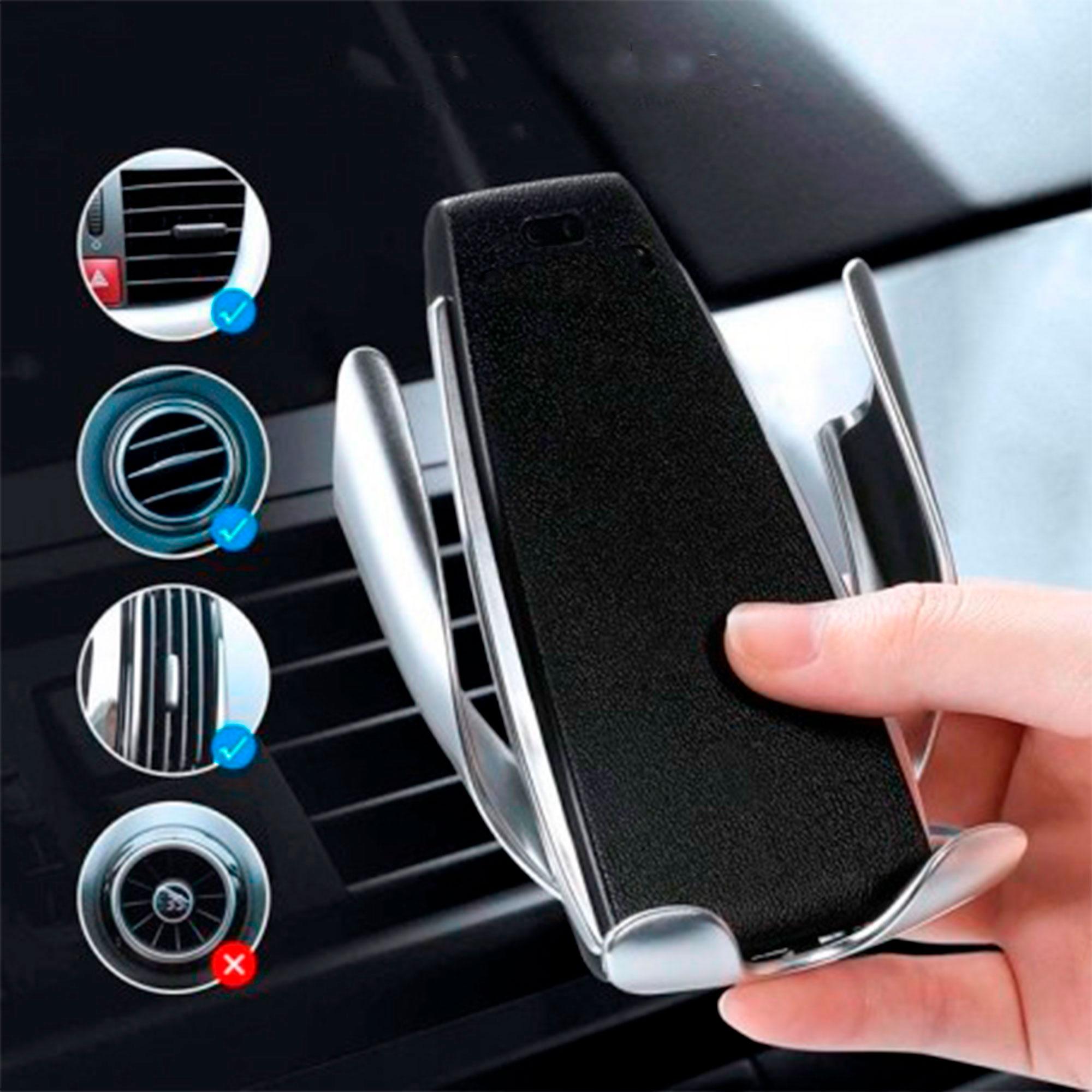 Carregador Suporte Wireless para Carro QI