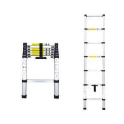 Escada Telescópica de Alumínio 2m