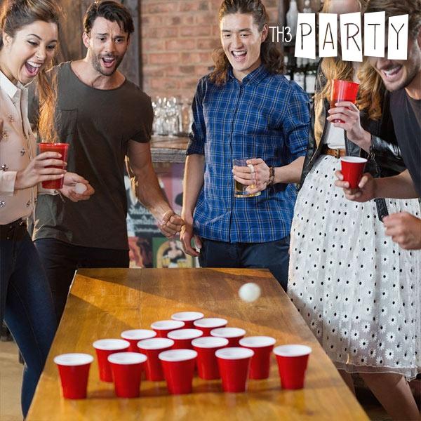 Jogo com Bebidas Party Pong