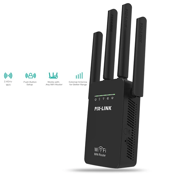 Wifi Repeater / Router – Pix Link