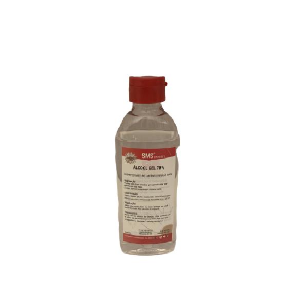 Pack de 10 Álcool Gel – Solução Antiséptica de Mãos 100ml