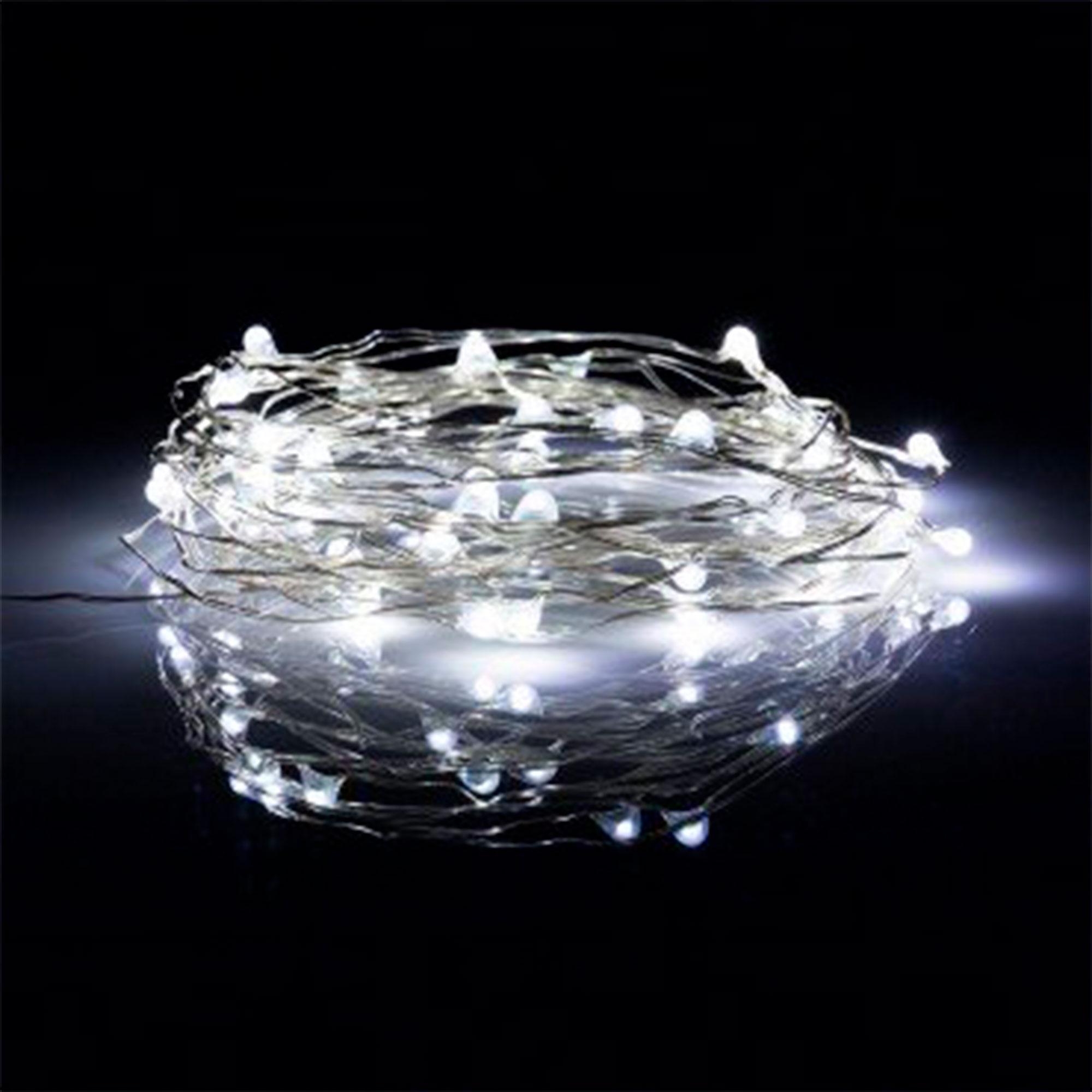 Grinalda LED de Arame 50 LED