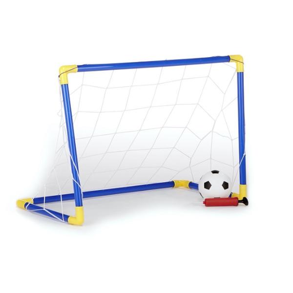 Conjunto Baliza com Bola de Futebol